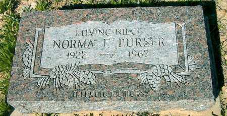 PURSER, NORMA FRANCES - Yavapai County, Arizona | NORMA FRANCES PURSER - Arizona Gravestone Photos