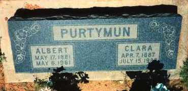 PURTYMUN, ALBERT ELMER - Yavapai County, Arizona | ALBERT ELMER PURTYMUN - Arizona Gravestone Photos