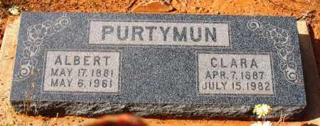 PURTYMUN, CLARA ELLEN - Yavapai County, Arizona   CLARA ELLEN PURTYMUN - Arizona Gravestone Photos