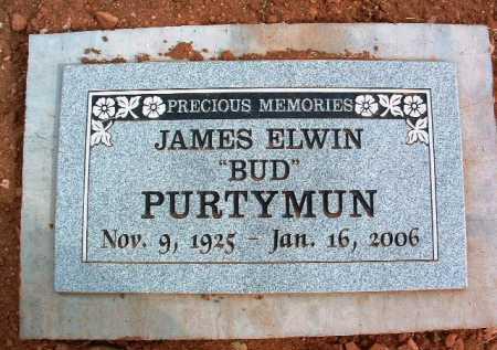 PURTYMUN, JAMES ELWIN - Yavapai County, Arizona | JAMES ELWIN PURTYMUN - Arizona Gravestone Photos