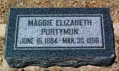 PURTYMUN, MARGARET E. - Yavapai County, Arizona | MARGARET E. PURTYMUN - Arizona Gravestone Photos