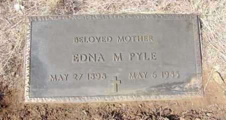 HILL PYLE, EDNA M. - Yavapai County, Arizona | EDNA M. HILL PYLE - Arizona Gravestone Photos
