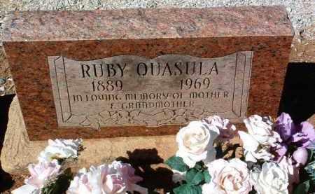 HAVAJEMA QUASULA, RUBY - Yavapai County, Arizona | RUBY HAVAJEMA QUASULA - Arizona Gravestone Photos