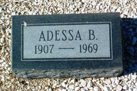 QUAYLE, ADESSA E. - Yavapai County, Arizona | ADESSA E. QUAYLE - Arizona Gravestone Photos