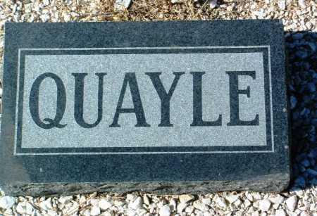 QUAYLE, FAMILY HEADSTONE - Yavapai County, Arizona   FAMILY HEADSTONE QUAYLE - Arizona Gravestone Photos
