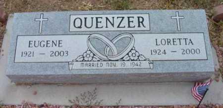 BERRETH QUENZER, LORETTA - Yavapai County, Arizona   LORETTA BERRETH QUENZER - Arizona Gravestone Photos