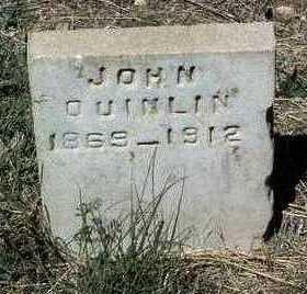 QUINLIN, JOHN - Yavapai County, Arizona | JOHN QUINLIN - Arizona Gravestone Photos