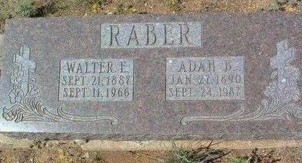 RABER, WALTER ELDON - Yavapai County, Arizona | WALTER ELDON RABER - Arizona Gravestone Photos