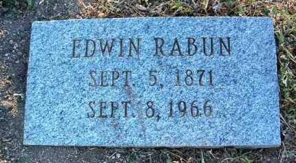 RABUN, EDWIN - Yavapai County, Arizona   EDWIN RABUN - Arizona Gravestone Photos