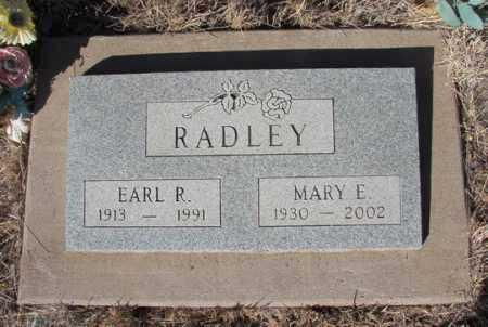 RADLEY, MARY ELLEN - Yavapai County, Arizona | MARY ELLEN RADLEY - Arizona Gravestone Photos