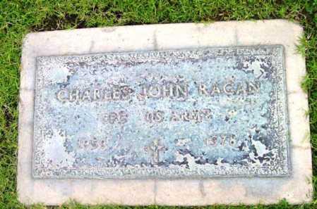 RAGAN, CHARLES JOHN - Yavapai County, Arizona | CHARLES JOHN RAGAN - Arizona Gravestone Photos
