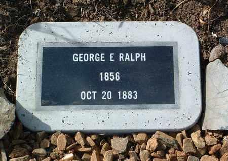 RALPH, GEORGE E. - Yavapai County, Arizona   GEORGE E. RALPH - Arizona Gravestone Photos