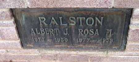 RALSTON, ROSA MABEL - Yavapai County, Arizona | ROSA MABEL RALSTON - Arizona Gravestone Photos