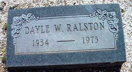 RALSTON, DAYLE WENDEL - Yavapai County, Arizona   DAYLE WENDEL RALSTON - Arizona Gravestone Photos