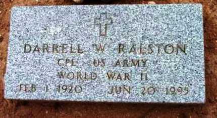 RALSTON, DARRELL WILLIAM - Yavapai County, Arizona | DARRELL WILLIAM RALSTON - Arizona Gravestone Photos