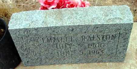 RALSTON, EMMETT LAWRENCE - Yavapai County, Arizona   EMMETT LAWRENCE RALSTON - Arizona Gravestone Photos