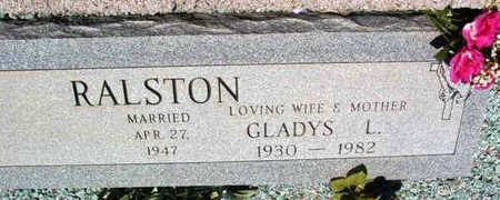 RALSTON, GLADYS LOUISE /M. - Yavapai County, Arizona | GLADYS LOUISE /M. RALSTON - Arizona Gravestone Photos