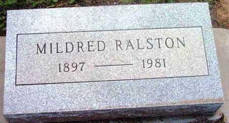 RALSTON, MILDRED - Yavapai County, Arizona | MILDRED RALSTON - Arizona Gravestone Photos