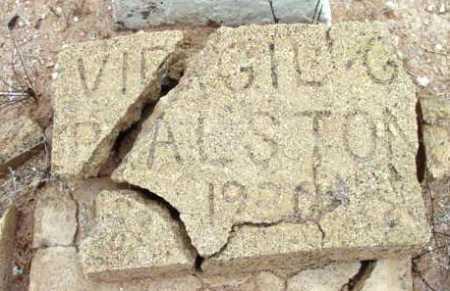 RALSTON, VIRGIL C. - Yavapai County, Arizona | VIRGIL C. RALSTON - Arizona Gravestone Photos
