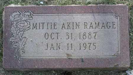AKIN WILLEY, MITTIE BELL - Yavapai County, Arizona   MITTIE BELL AKIN WILLEY - Arizona Gravestone Photos