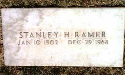 RAMER, STANLEY H. - Yavapai County, Arizona | STANLEY H. RAMER - Arizona Gravestone Photos