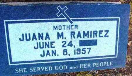 RAMIREZ, JUANA M. - Yavapai County, Arizona | JUANA M. RAMIREZ - Arizona Gravestone Photos