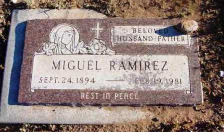 RAMIREZ, MIGUEL - Yavapai County, Arizona | MIGUEL RAMIREZ - Arizona Gravestone Photos