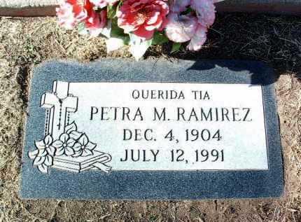 RAMIREZ, PETRA M. - Yavapai County, Arizona   PETRA M. RAMIREZ - Arizona Gravestone Photos