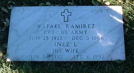 LEON RAMIREZ, INEZ L. - Yavapai County, Arizona | INEZ L. LEON RAMIREZ - Arizona Gravestone Photos