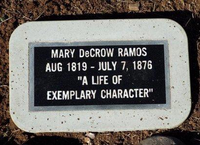 KUYKENDALL DECROW, MARY - Yavapai County, Arizona | MARY KUYKENDALL DECROW - Arizona Gravestone Photos