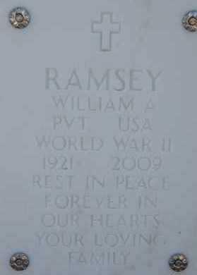 RAMSEY, WILLIAM A. - Yavapai County, Arizona   WILLIAM A. RAMSEY - Arizona Gravestone Photos