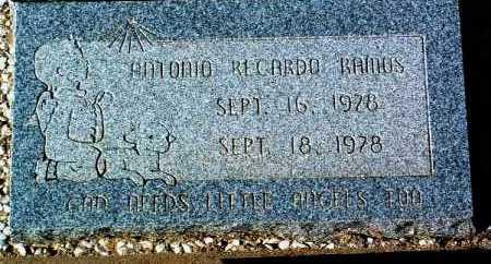 RAMOS, ANTONIO RECARDO - Yavapai County, Arizona   ANTONIO RECARDO RAMOS - Arizona Gravestone Photos