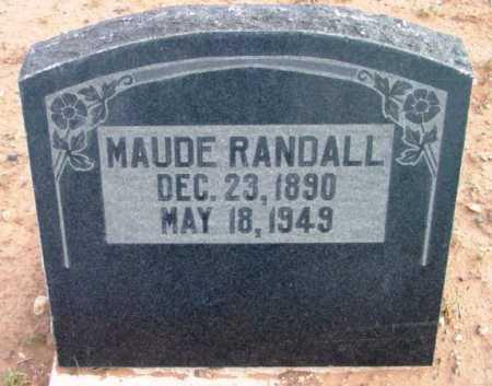 RANDALL, MAUDE BERTHA - Yavapai County, Arizona   MAUDE BERTHA RANDALL - Arizona Gravestone Photos