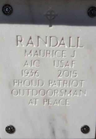 RANDALL, MAURICE JAMES - Yavapai County, Arizona | MAURICE JAMES RANDALL - Arizona Gravestone Photos