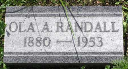 RANDALL, OLA ANDREW - Yavapai County, Arizona | OLA ANDREW RANDALL - Arizona Gravestone Photos