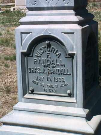 RANDALL, VICTORIA FRANCES - Yavapai County, Arizona | VICTORIA FRANCES RANDALL - Arizona Gravestone Photos