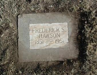 RAWSON, FREDERICK SEWARD - Yavapai County, Arizona   FREDERICK SEWARD RAWSON - Arizona Gravestone Photos