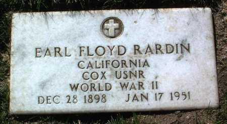 RARDIN, EARL FLOYD - Yavapai County, Arizona | EARL FLOYD RARDIN - Arizona Gravestone Photos