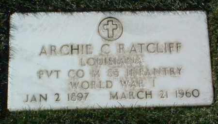 RATCLIFF, ARCHIE C. - Yavapai County, Arizona   ARCHIE C. RATCLIFF - Arizona Gravestone Photos