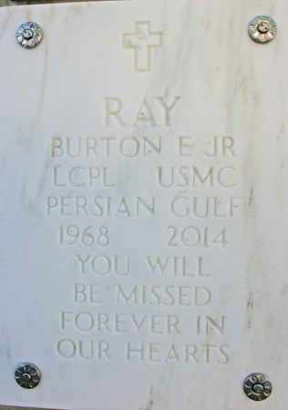RAY, BURTON E., JR. - Yavapai County, Arizona   BURTON E., JR. RAY - Arizona Gravestone Photos