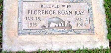 BOAN RAY, FLORENCE - Yavapai County, Arizona | FLORENCE BOAN RAY - Arizona Gravestone Photos