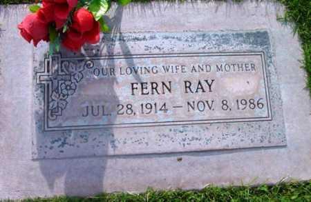 RAY, FERN - Yavapai County, Arizona   FERN RAY - Arizona Gravestone Photos