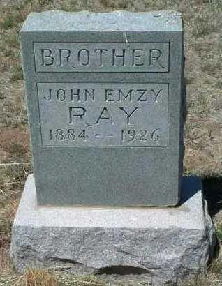 RAY, JOHN EMZY - Yavapai County, Arizona | JOHN EMZY RAY - Arizona Gravestone Photos