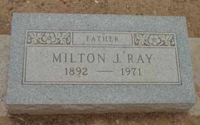 RAY, MILTON JAMES - Yavapai County, Arizona | MILTON JAMES RAY - Arizona Gravestone Photos