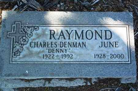 RAYMOND, JUNE D. - Yavapai County, Arizona   JUNE D. RAYMOND - Arizona Gravestone Photos