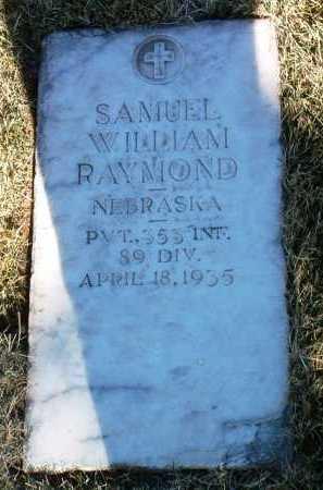 RAYMOND, SAMUEL WILLIAM - Yavapai County, Arizona | SAMUEL WILLIAM RAYMOND - Arizona Gravestone Photos