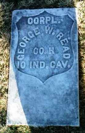 READ, GEORGE W - Yavapai County, Arizona | GEORGE W READ - Arizona Gravestone Photos