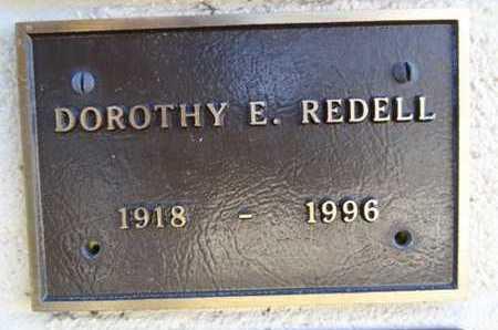 REDELL, DOROTHY ELIZABETH - Yavapai County, Arizona | DOROTHY ELIZABETH REDELL - Arizona Gravestone Photos