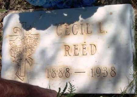 REED, CECIL L. - Yavapai County, Arizona   CECIL L. REED - Arizona Gravestone Photos