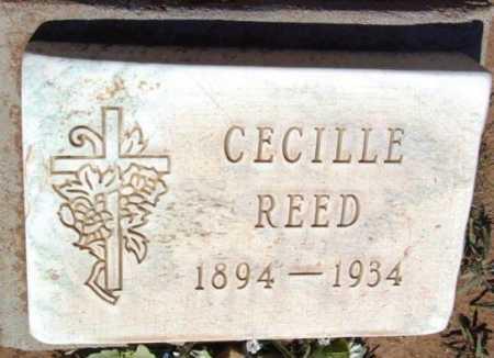 REED, CECILLE EMERLY - Yavapai County, Arizona | CECILLE EMERLY REED - Arizona Gravestone Photos